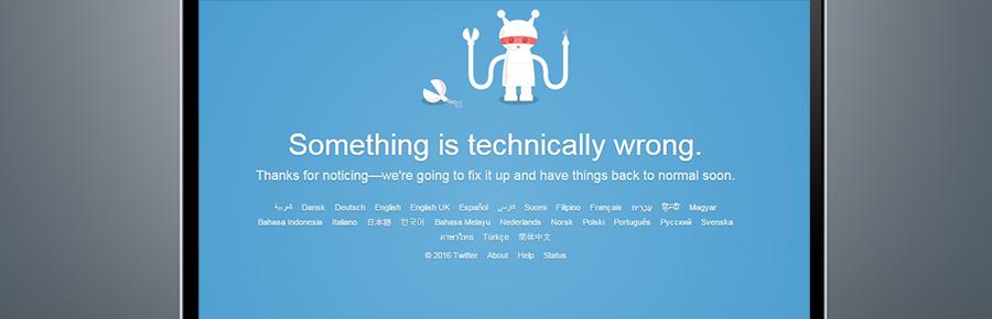 عودة تويتر للعمل بعد عطل استمر أكثر من ساعتين !