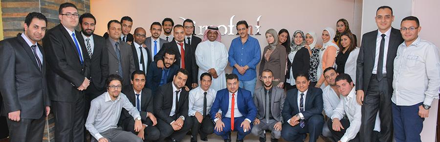 زيارة الاستاذ علي الحازمي (مؤسس صحيفة سبق) لشركة ديموفنف