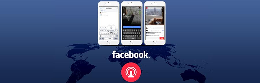فيسبوك تطلق ميزة live video على تطبيقها على الويب