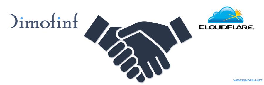 Dimofinf تعقد إتفاق شراكة مع CloudFlare لتقديم خدماتها لعملائها