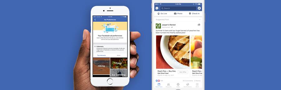 فيسبوك تطلق تحديثًا جديدًا للتحكم في الإعلانات التي تظهر للمستخدمين