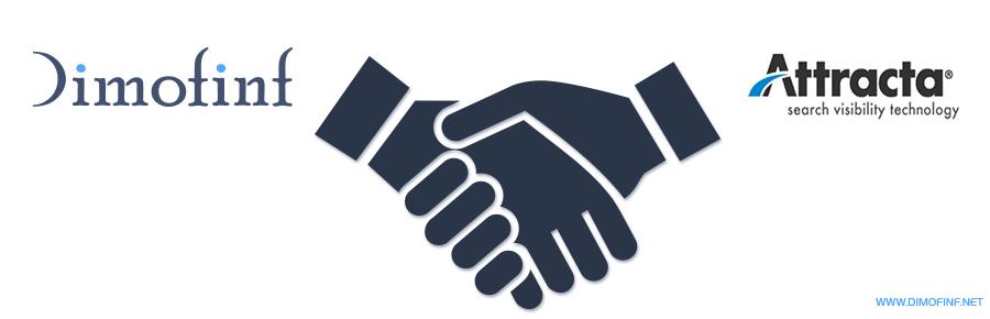 Dimofinf تعقد إتفاق شراكة مع شركة Attracta المختصة في خدمات تحسين نتائج محركات البحث